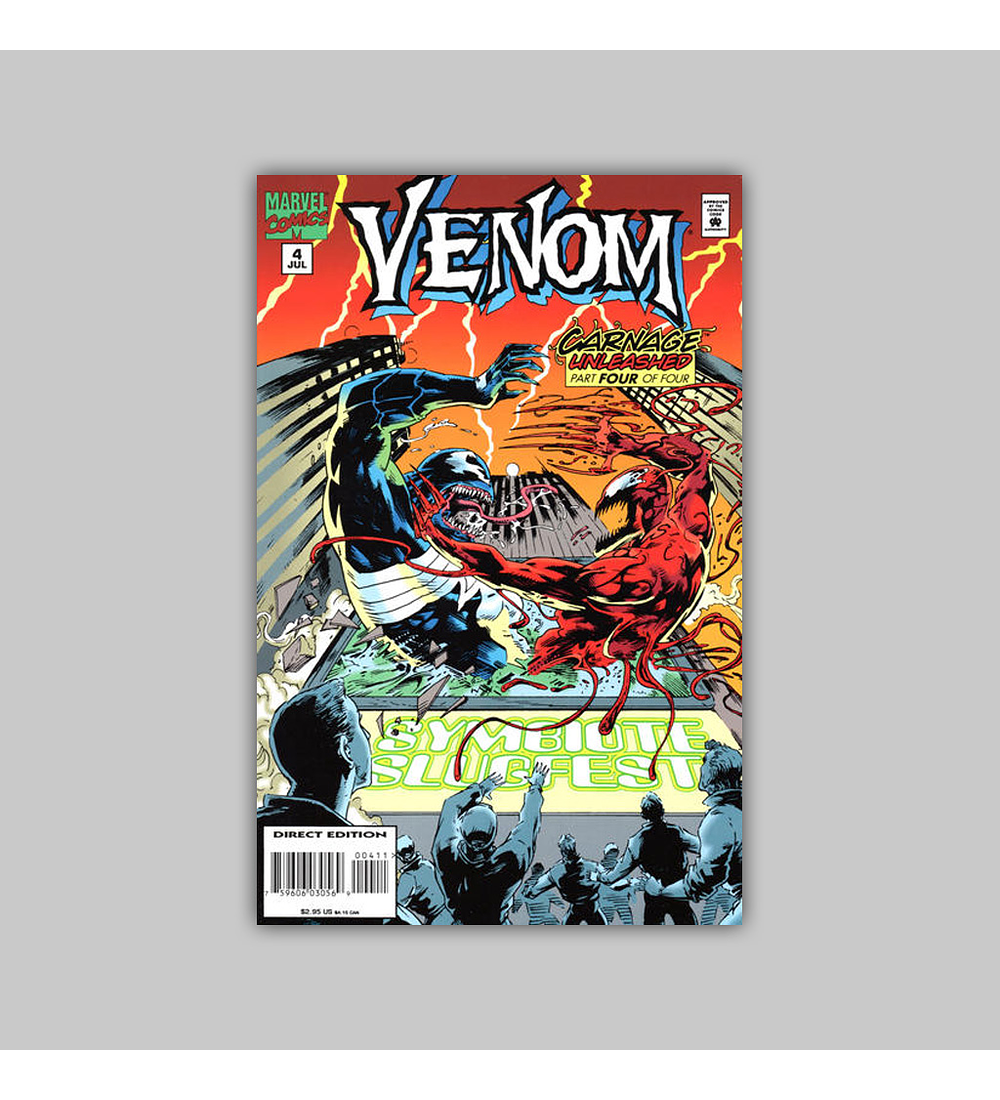 Venom: Carnage Unleashed 4 1995