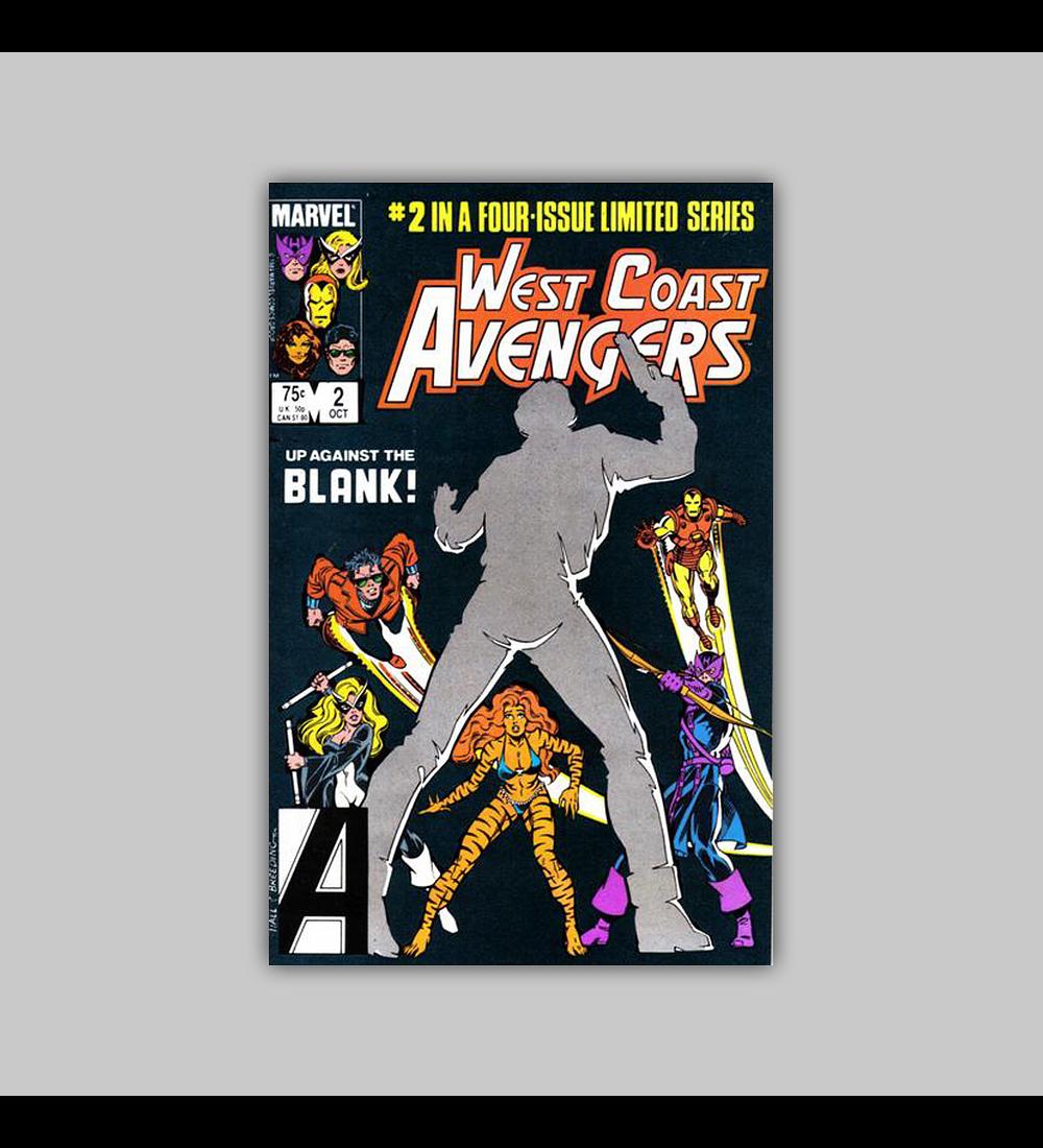 West Coast Avengers 2 1984