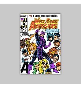 West Coast Avengers (complete limited series) VF/NM (9.0)