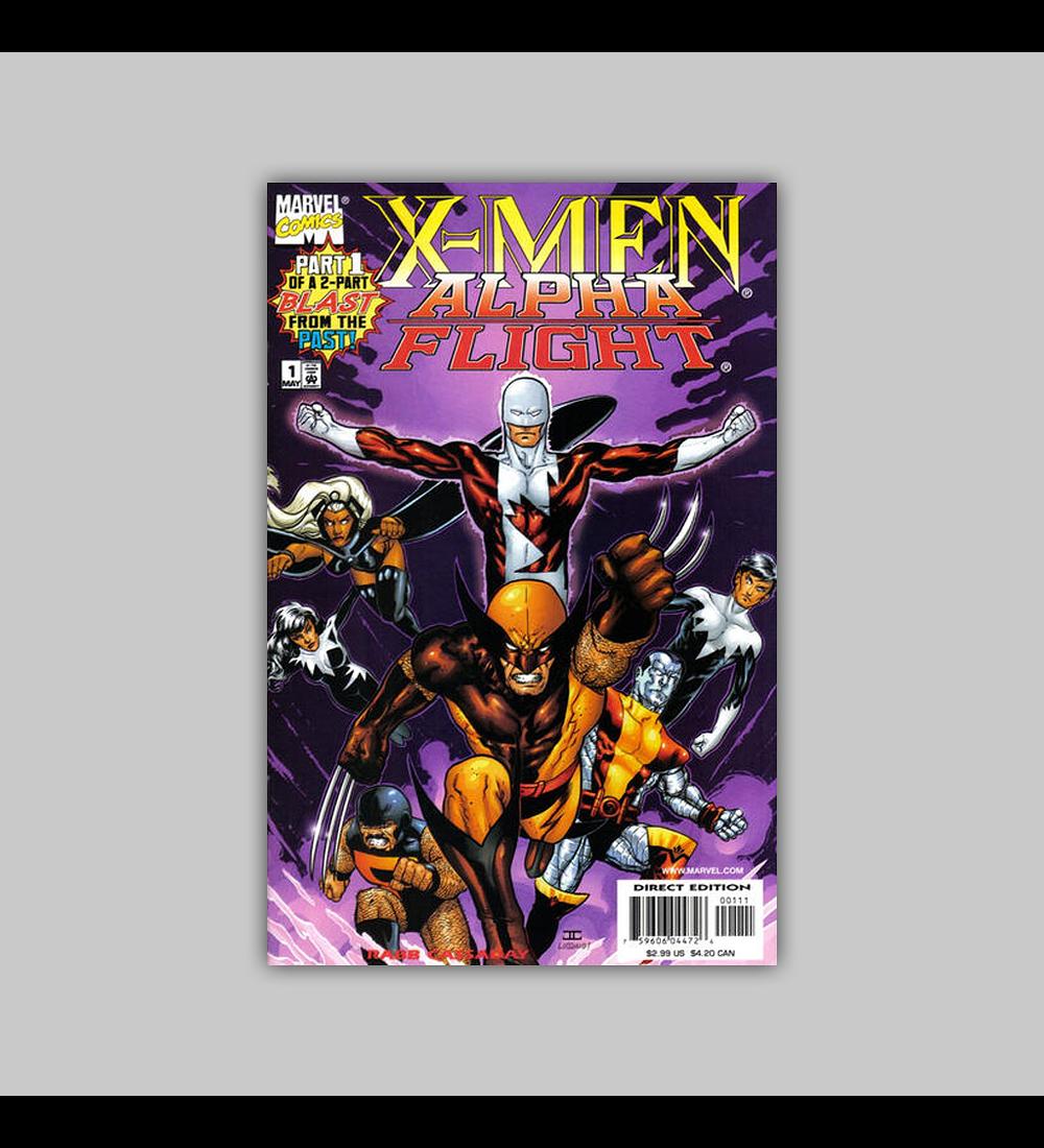 X-Men/Alpha Flight 1 1998