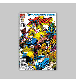 X-Force 16 Polybagged 1992