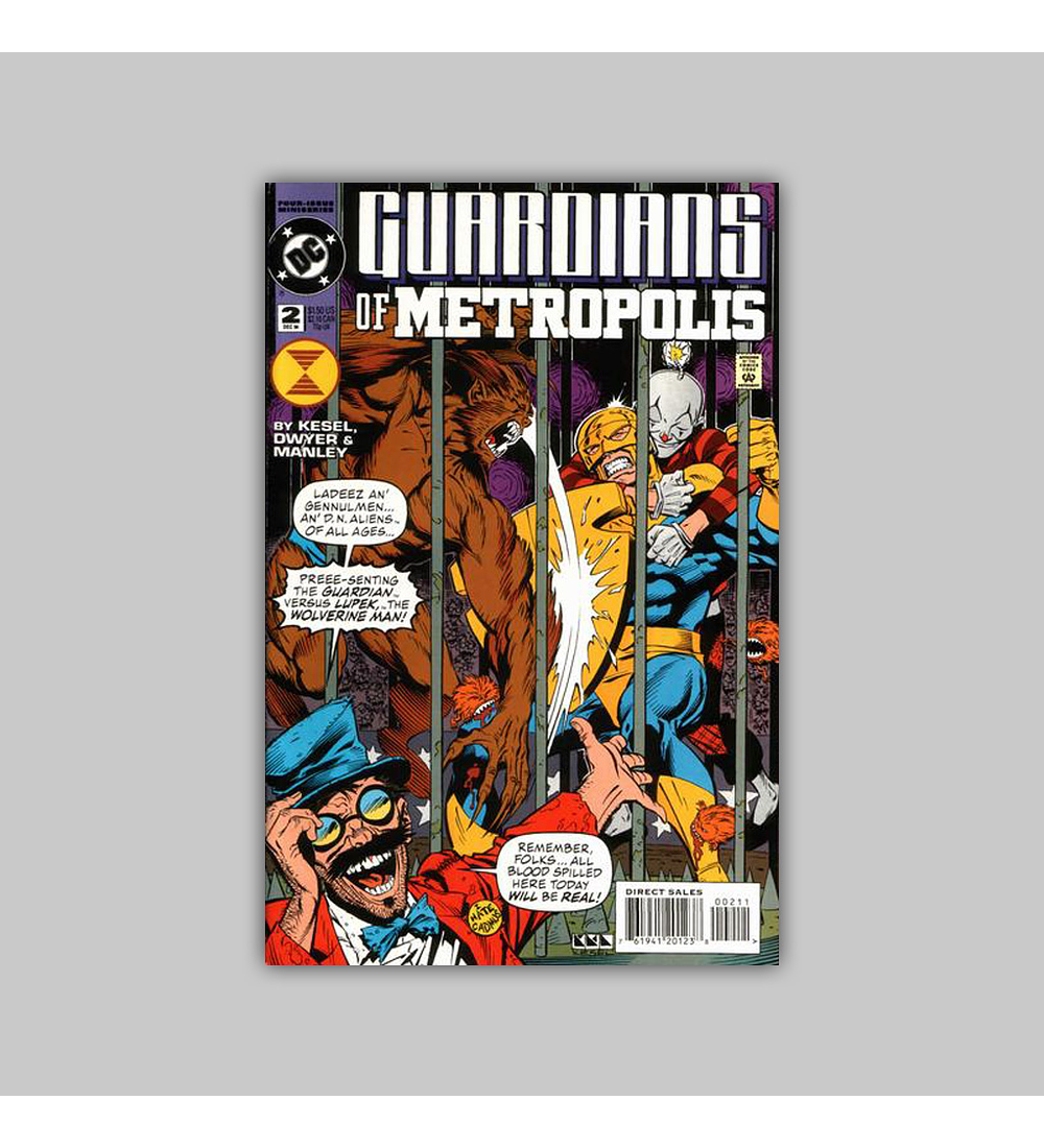 Guardians of Metropolis (complete limited series) 1994