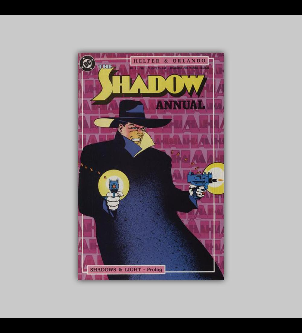 The Shadow Strikes Annual 1 1989