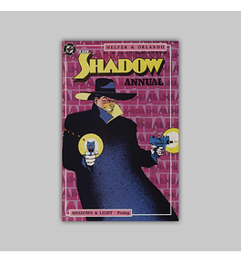 The Shadow Strikes Annual 1 1989