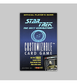 Official Player´s Guide: Star Trek - The Next Generation Customizable Card Game 1995