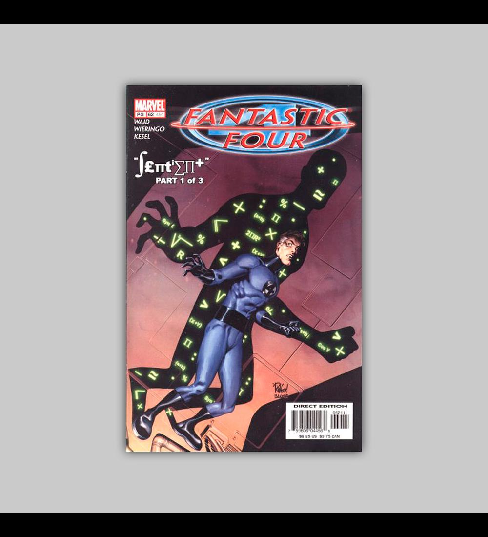 Fantastic Four (Vol. 3) 62 2002