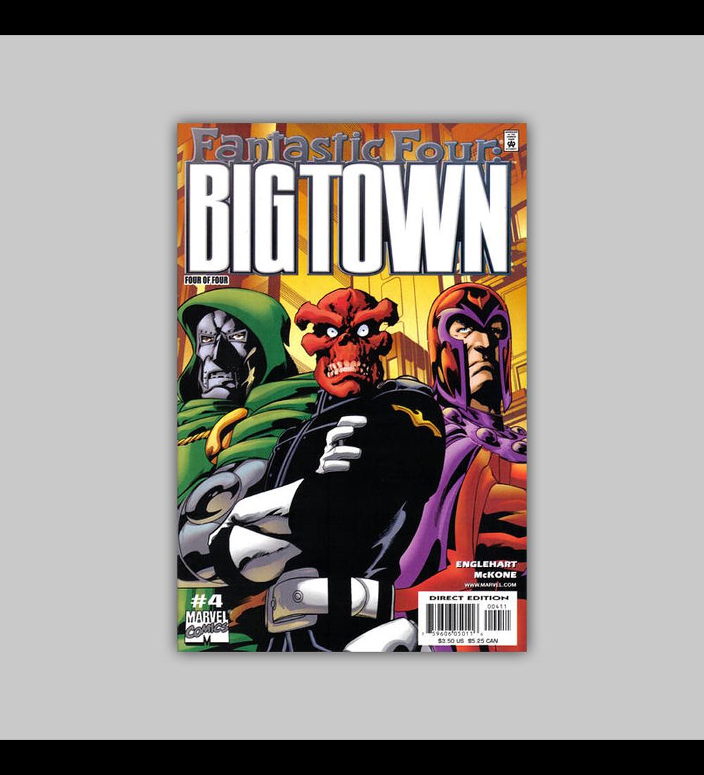 Fantastic Four: Big Town 4 2001