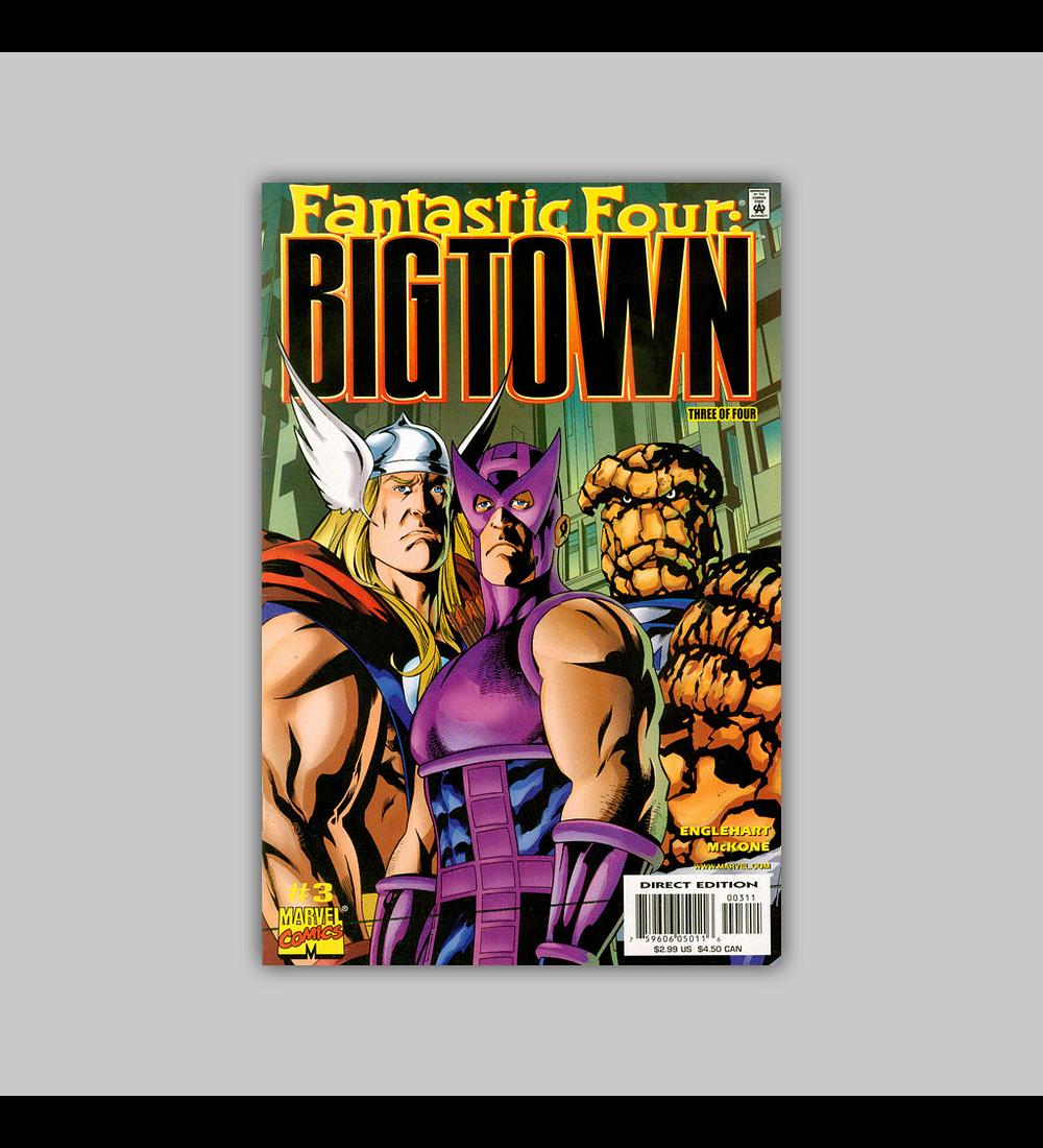 Fantastic Four: Big Town 3 2001