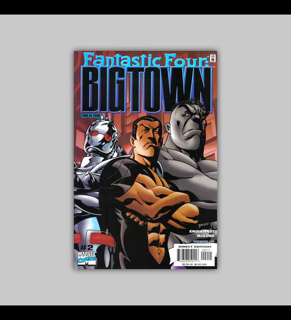 Fantastic Four: Big Town 2 2001