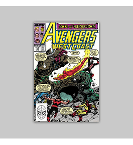 Avengers West Coast (Vol. 2) 54 1990