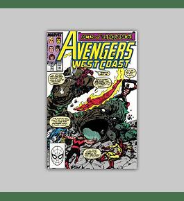 Avengers West Coast 54 1990