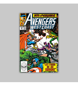 Avengers West Coast (Vol. 2) 55 1990
