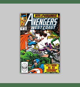 Avengers West Coast 55 1990