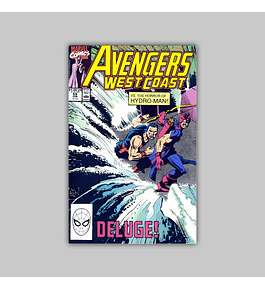 Avengers West Coast 59 1990