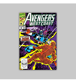Avengers West Coast (Vol. 2) 64 1990