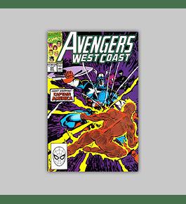 Avengers West Coast 64 1990
