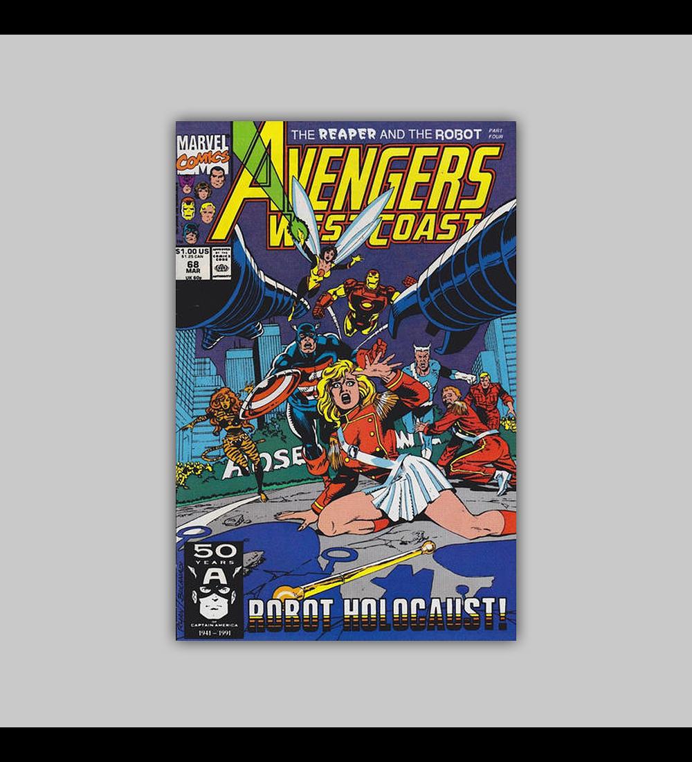 Avengers West Coast 68 1991