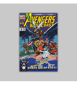 Avengers West Coast (Vol. 2) 68 1991