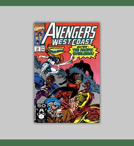 Avengers West Coast 70 1991