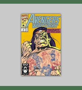 Avengers West Coast 72 1991