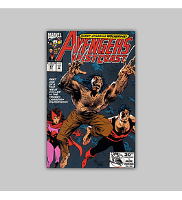 Avengers West Coast (Vol. 2) 87 1992