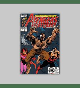 Avengers West Coast 87 1992