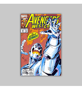 Avengers West Coast (Vol. 2) 89 1992