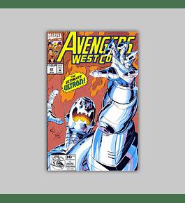 Avengers West Coast 89 1992