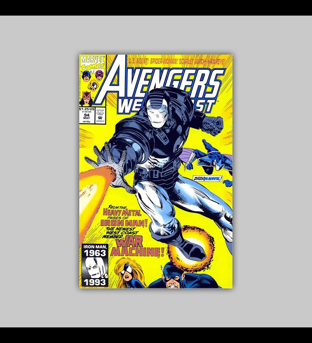 Avengers West Coast (Vol. 2) 94 1993