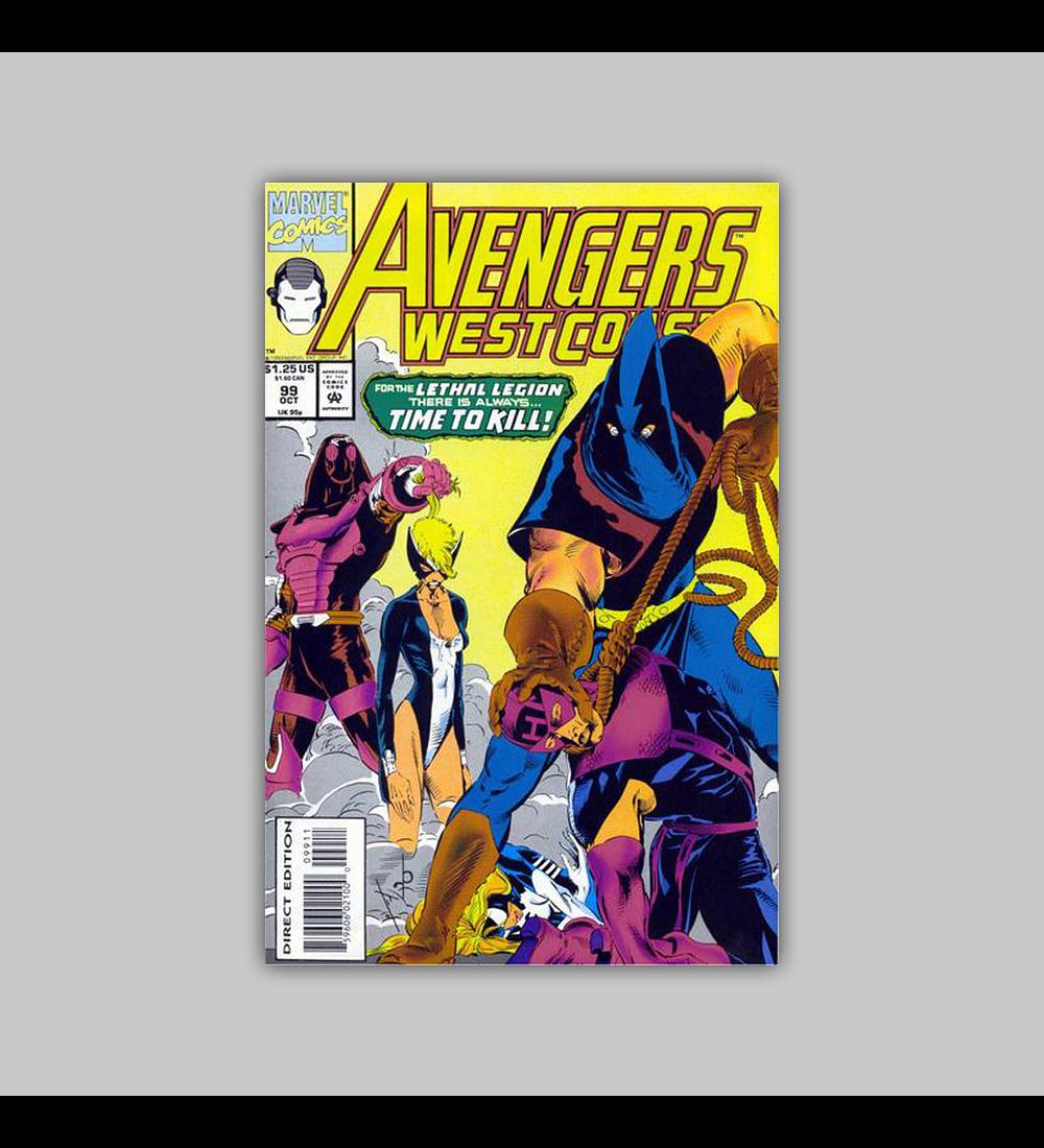 Avengers West Coast (Vol. 2) 99 1993