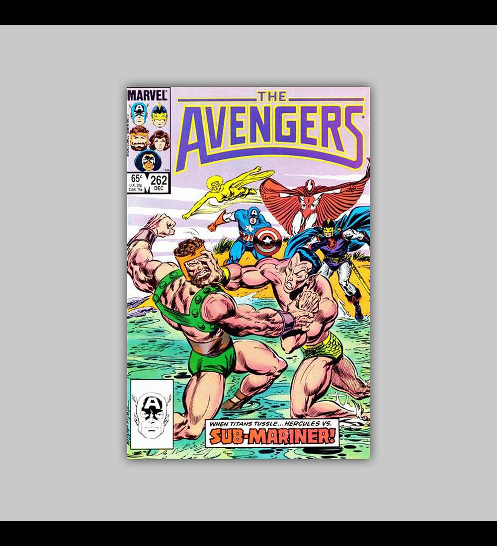 Avengers 262 1985