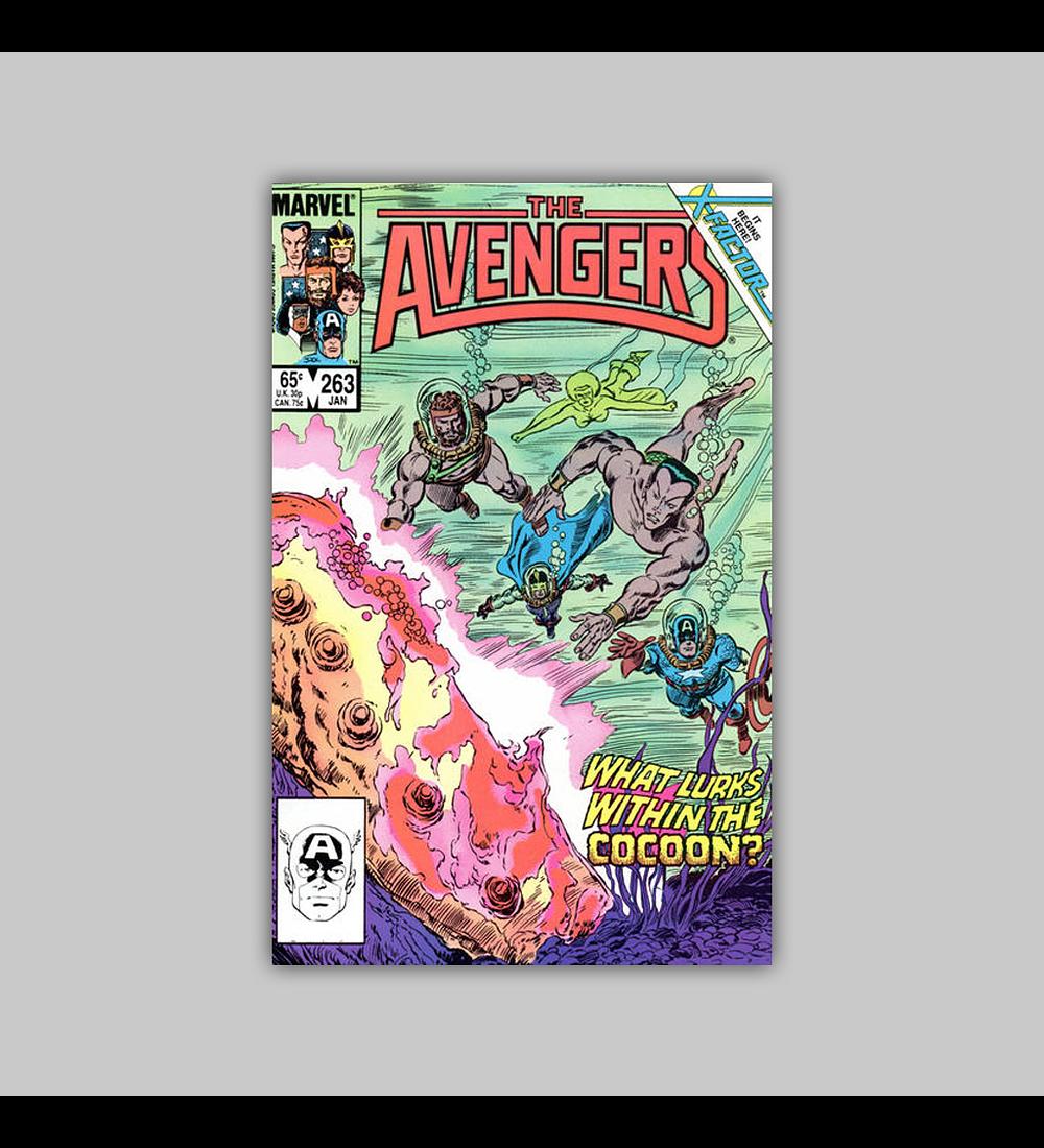 Avengers 263 1986