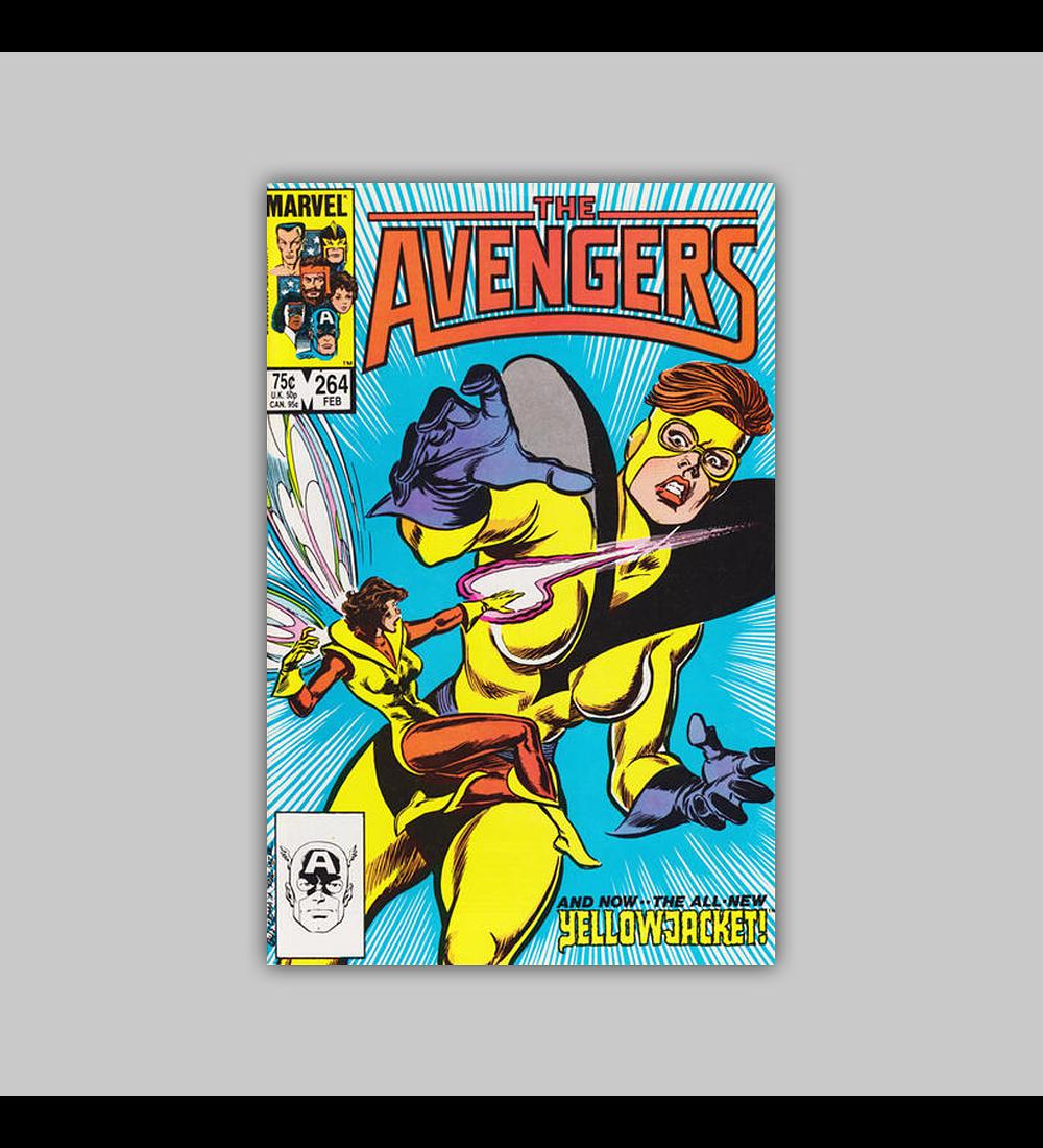 Avengers 264 1986