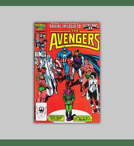 Avengers 266 1986