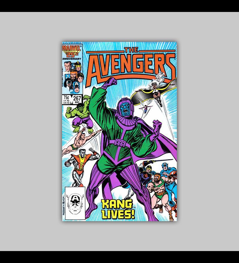 Avengers 267 1986