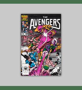 Avengers 268 1986