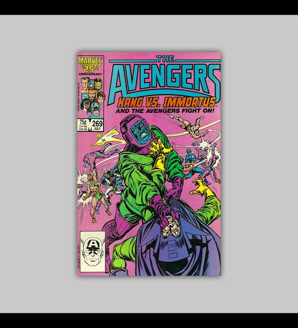 Avengers 269 1986