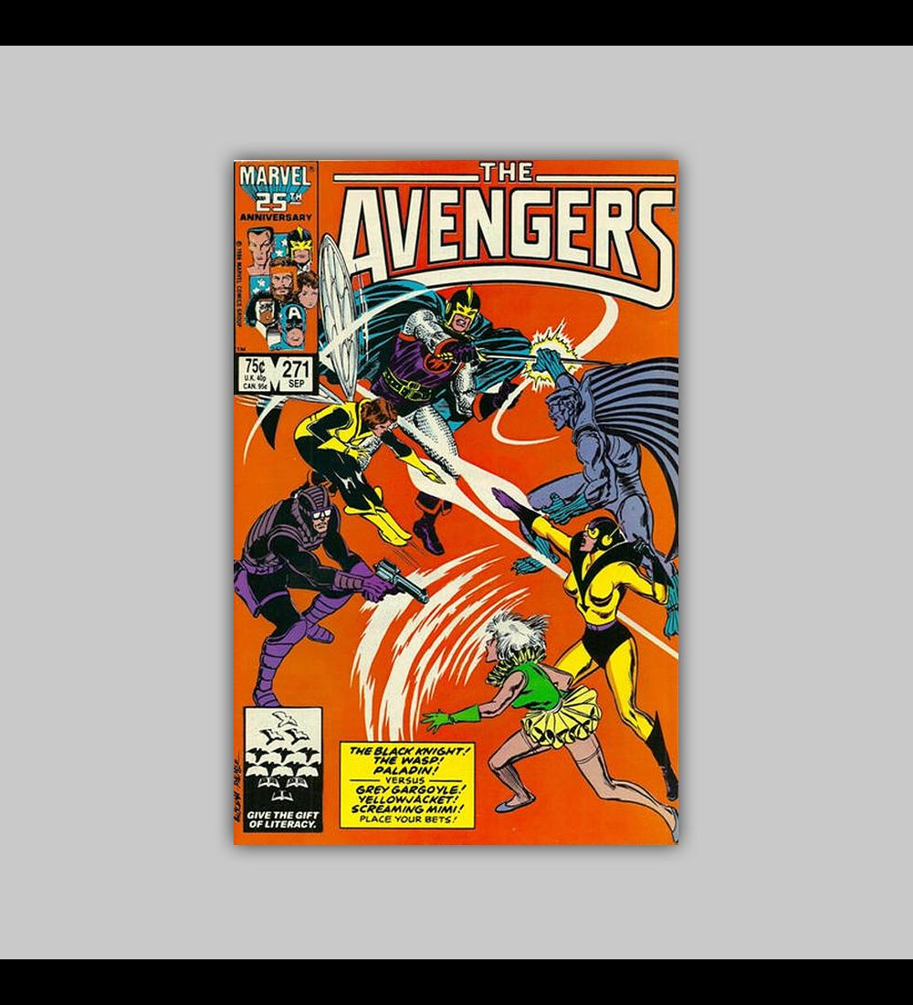Avengers 271 1986