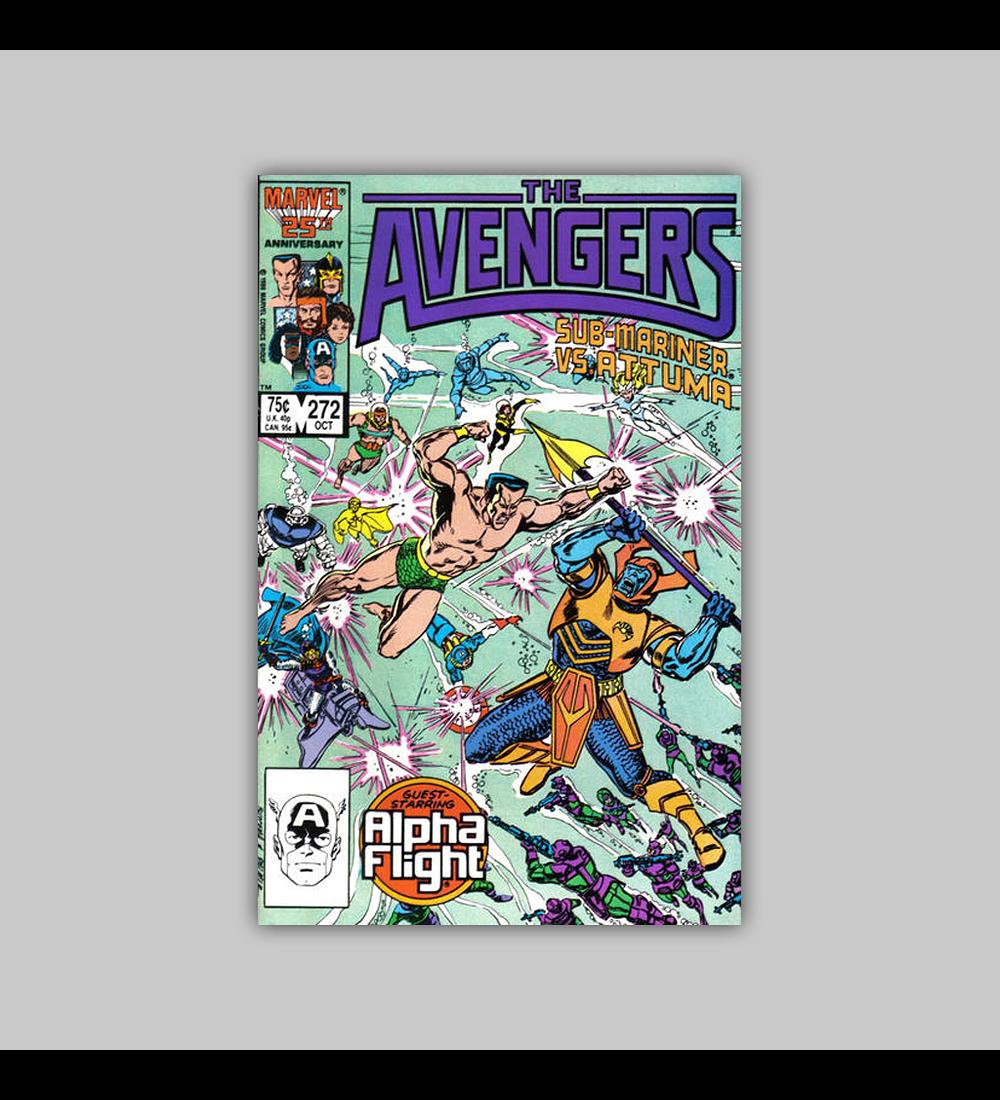Avengers 272 1986