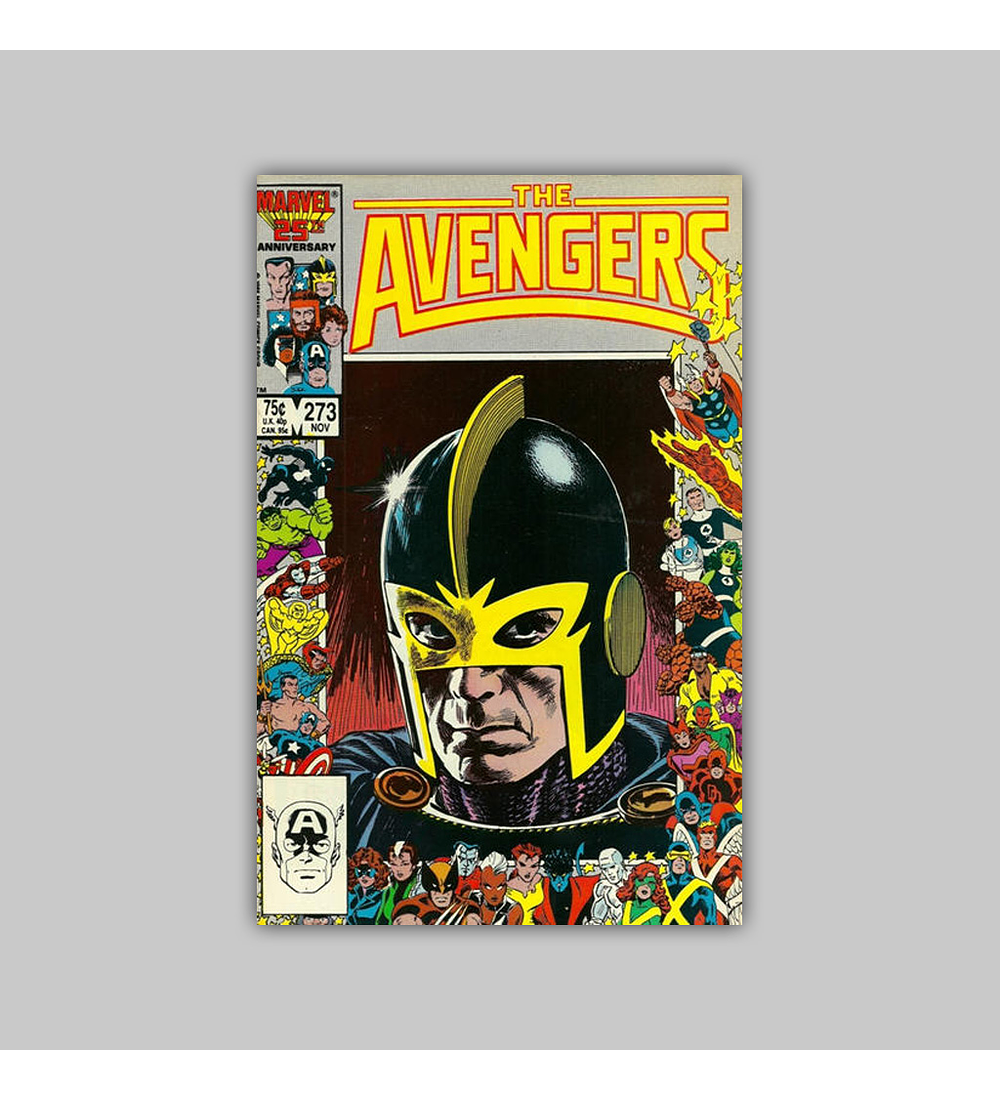 Avengers 273 1986