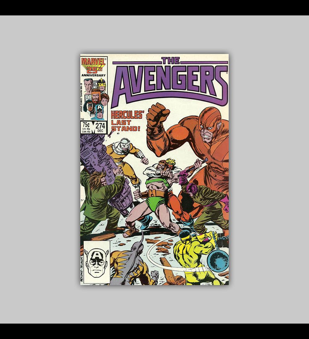 Avengers 274 1986
