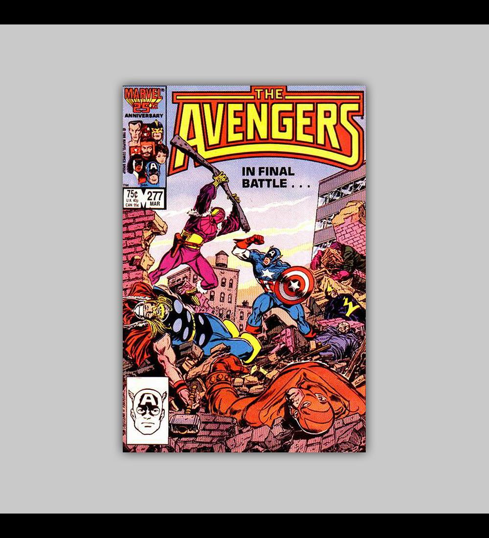 Avengers 277 1987