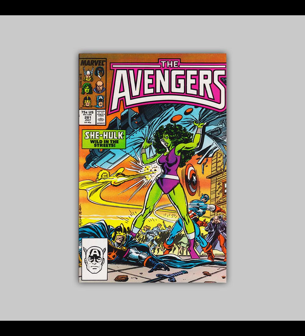 Avengers 281 1987
