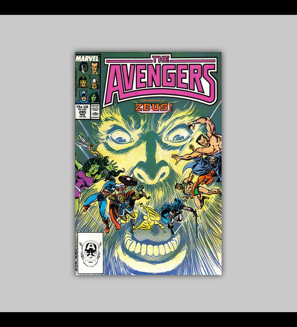 Avengers 285 1987