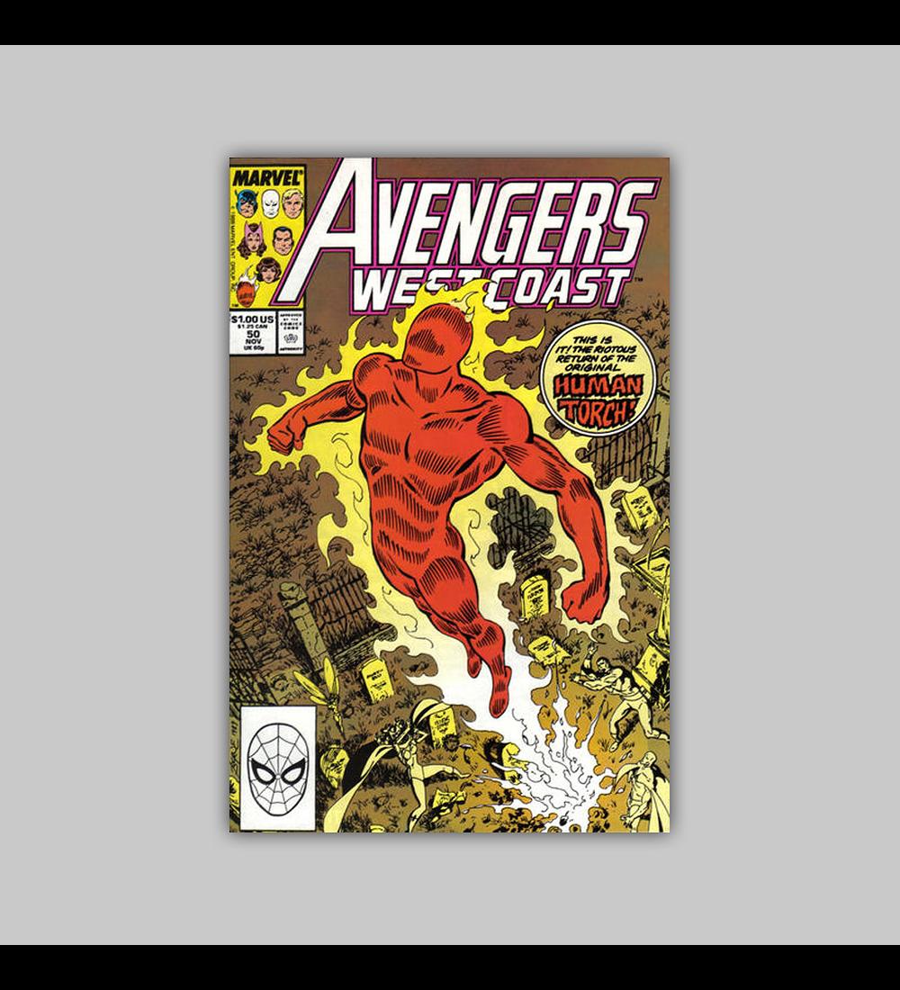 Avengers West Coast 50 1989