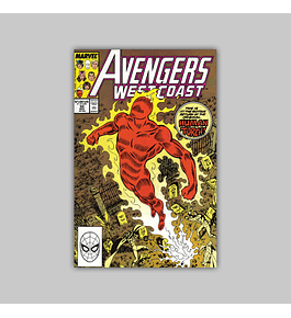 Avengers West Coast (Vol. 2) 50 1989