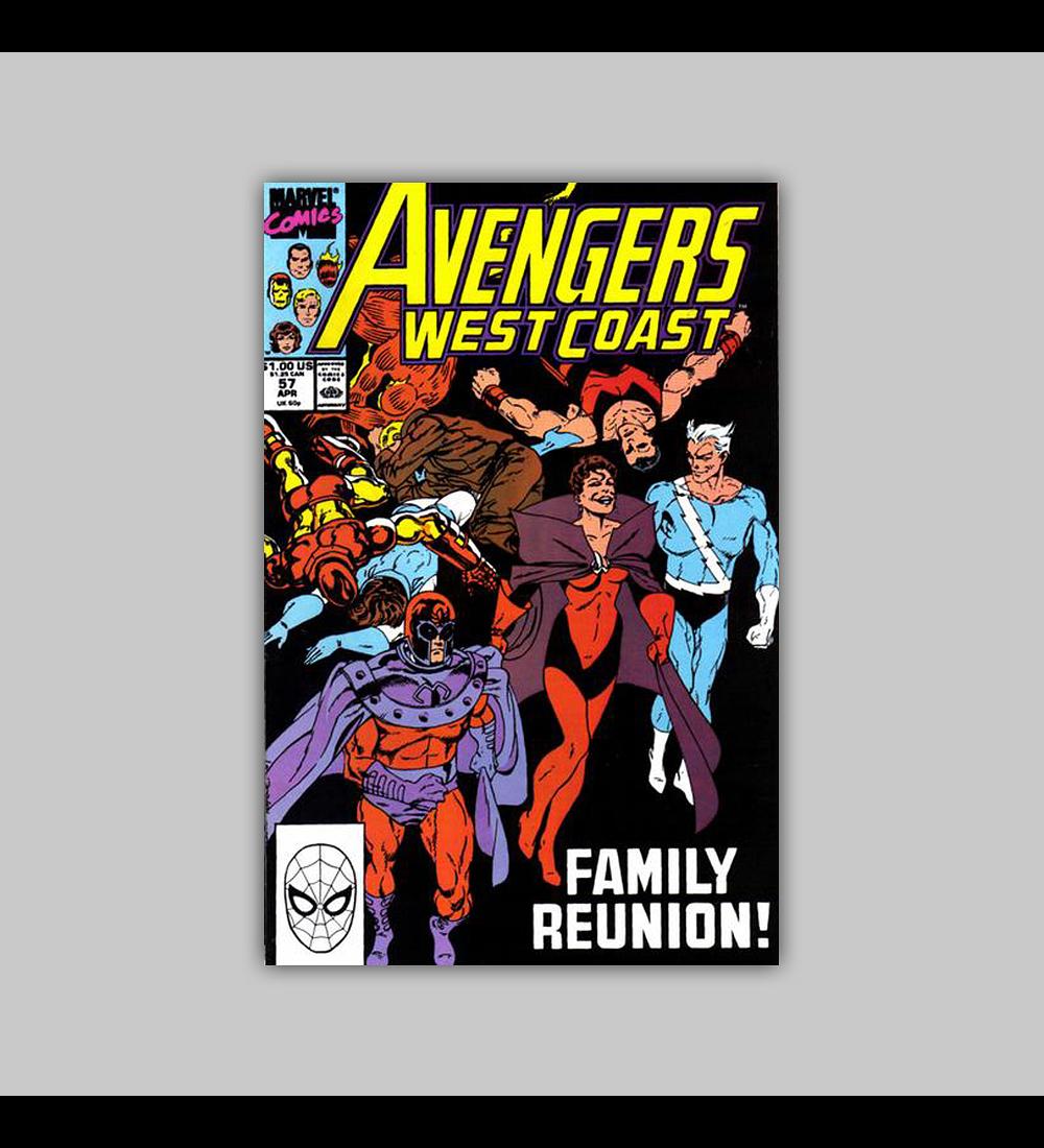 Avengers West Coast (Vol. 2) 57 1990