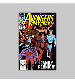 Avengers West Coast (Vol. 2) 57 1990