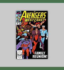 Avengers West Coast 57 1990