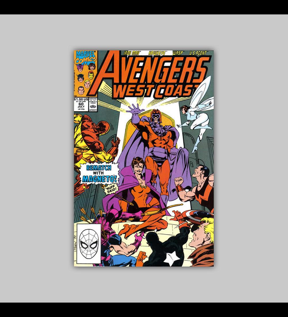Avengers West Coast 60 1990